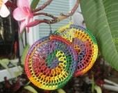 Spiderweb in Bright Multi