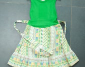 Nice summerdress from deadstock, new with tags, size 4 - oliviavintagekids