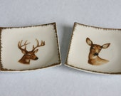 Mr and Mrs Kitschy Deer - RevisitVintagebyAmy