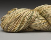 Handpainted Yarn, Merino Silk 50/50, Fingering Wt, 100 g, Larches in Fall - other colors available - RavenRidgeFiberArts