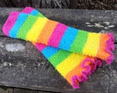 Infant/Children's Rainbow Fuzzy Leg Warmers
