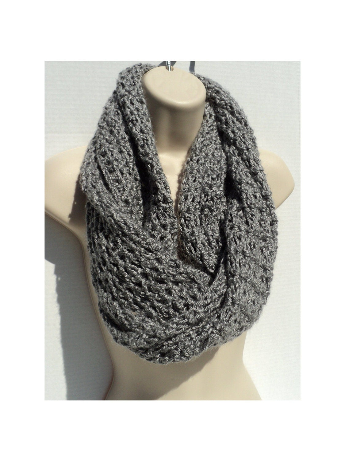 Crochet Scarf PATTERN PDF Format Pattern Neck Warmer Pattern Neck ...