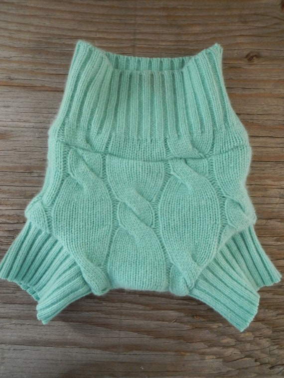 upcycled repurposed woold baby diaper cover cashmere