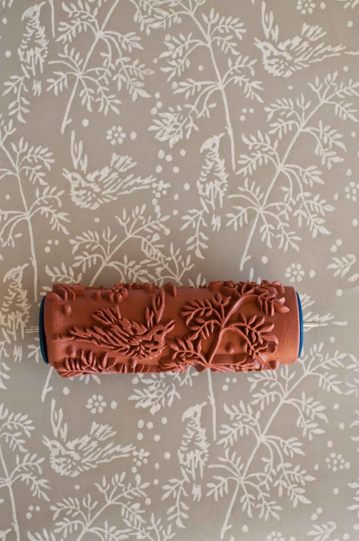 Rullo Per Carta Da Parati.Effetto Carta Da Parati Con Il Rullo Decorativo Studiomag