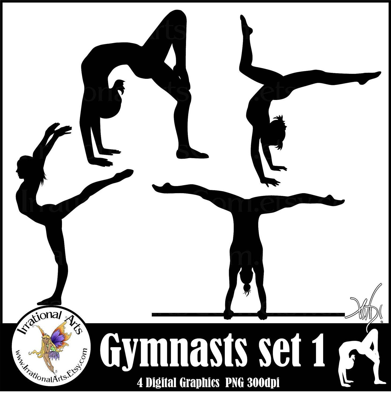 clip art gymnastics poses - photo #16