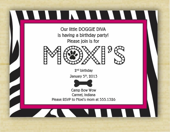 Wedding Invitation Diva: Diva Party Invites