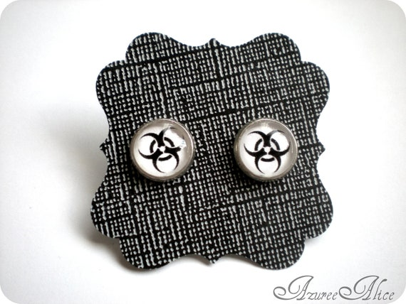Biohazard Earrings