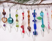 Beaded Ornament Hangers / B28
