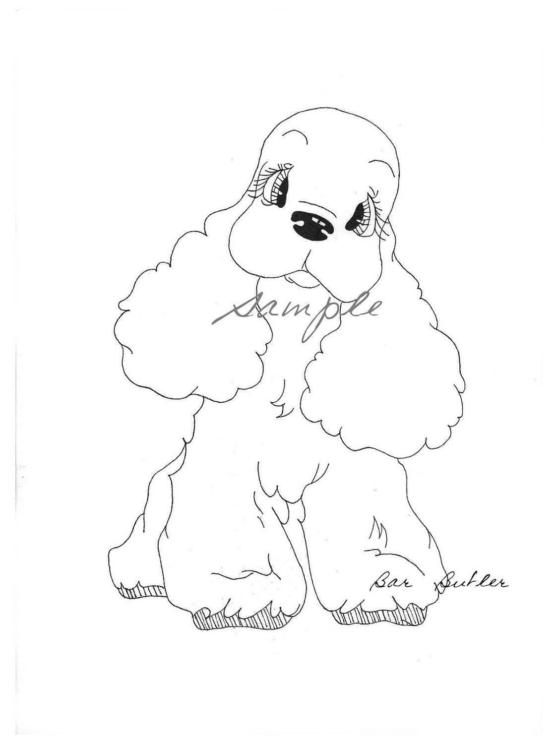 cocker spaniel coloring pages pictures to pin on pinterest