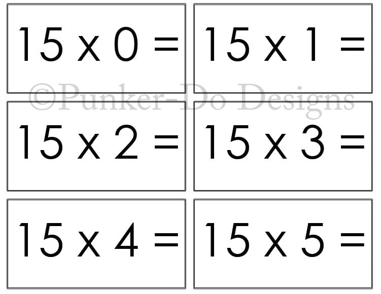 Download Multiplication Flash Cardshtml In Zojumewucuhgithubcom