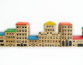 Vintage City Building Blocks - MonkiVintage