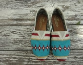 Custom hand painted TOMS, South by Southwest - solereflections