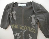 Beatles newborn baby gown - littleoneslove