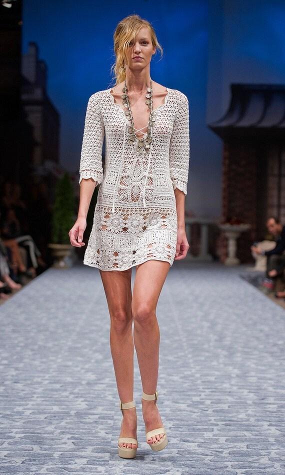 ساخته شده به سفارش لباس قلاب دوزی سفارشی ساخته شده است، دست ساخته شده، قلاب دوزی - لباس پنبه