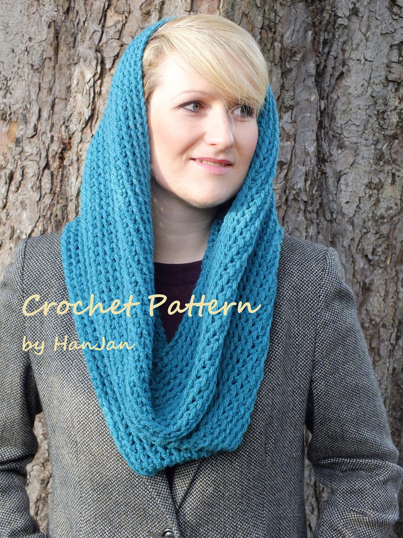 snood scarf pattern free.
