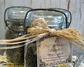 """old fashioned lavender """"preserves"""" vintage canning jar / gift idea"""