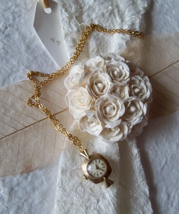 Simple Steampunk Charm Necklace