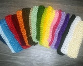 10 Piece Set U Choose COLORS Crochet Boutique Headband baby girl Infant GREAT Christmas gift