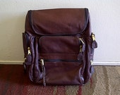 FRYE Leather Backpack, with Cushioned Laptop Holder, Vintage, Back to School, Work, Hiking, Excellent Craftsmanship