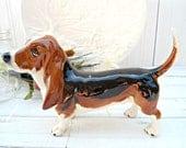 Vintage Beswick Basset Hound - Vintage Dog Figurine