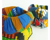 Wavy Geometric African Block Print Bangles -- Buy 2, Get 1 Free