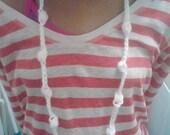 Bobble Crochet Single Necklace