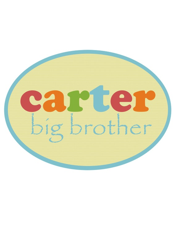 Big Brother Little Brother Personalized T-shirts and Onesies