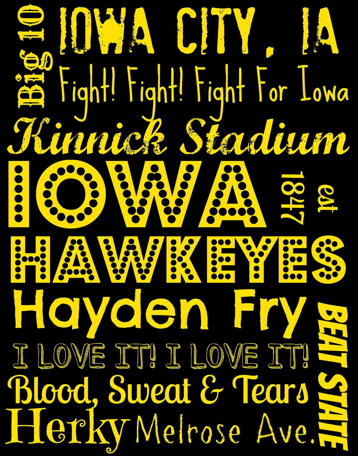 Iowa Hawkeye Images