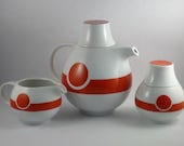 Vintage 1970s Tea Service Set - Modern Space Age Design