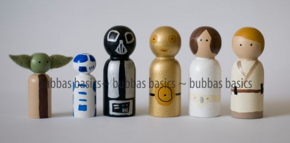 Star wars peg doll