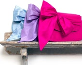 fuchsia silk wedding clutch, bridemaids gift sets, wedding clutches, match your bridesmaids dresses - eclu