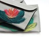 Canvas iPad Mini Sleeve - Teal