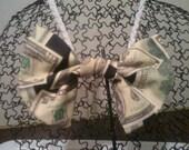 Money Print Bow Tie