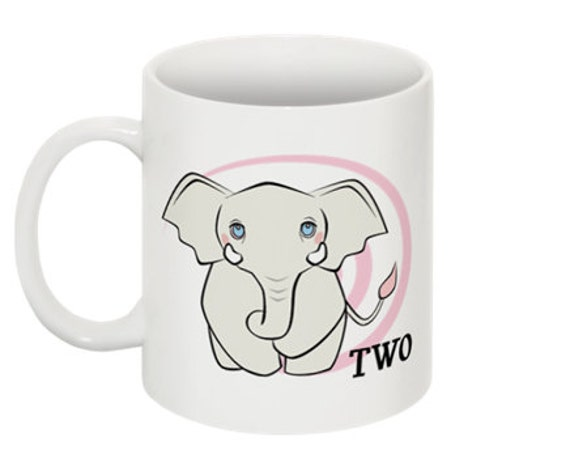 Counting Mug 02 Lilyan the Elephant