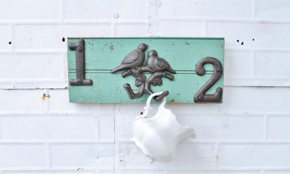 Birds on a Branch Wall Hooks - Created from Antique Salvaged Wood