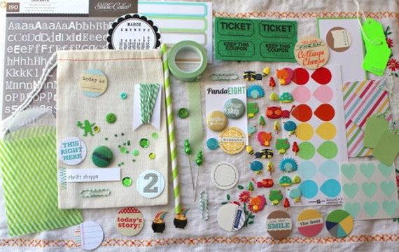 Thrift Shoppe Embellishment Kit