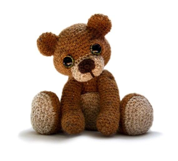 Teddy Bear Amigurumi Crochet Pattern PDF - Theo