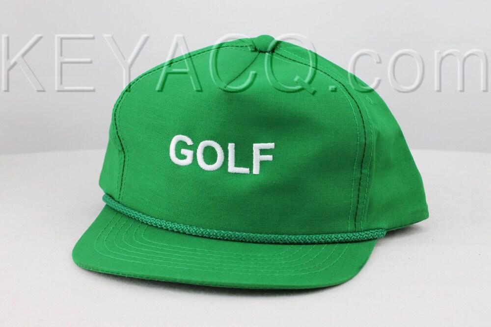 Tyler the Creator Green Golf Hat Snapback odd future ...  Tyler the Creat...