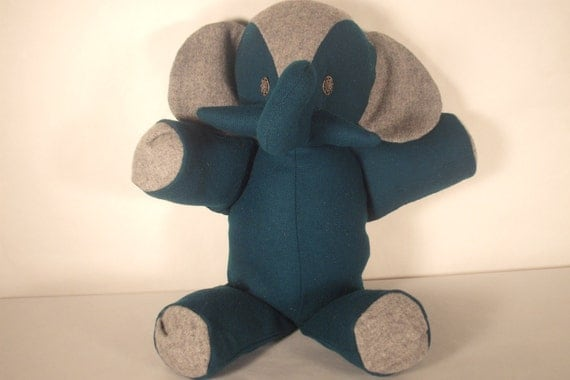 Stuffed Elephant Toy--Vernon