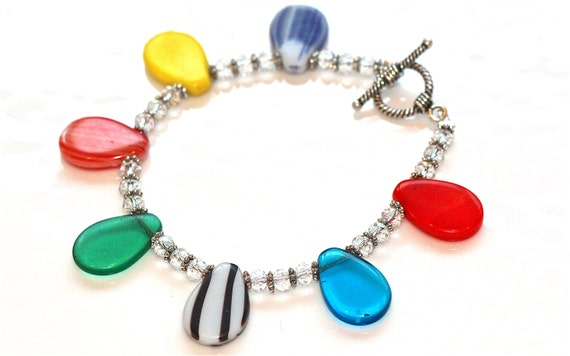 fizzcandy rainbow bracelet from etsy