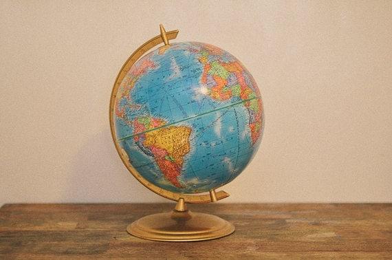 Vintage Cram Imperial Globe