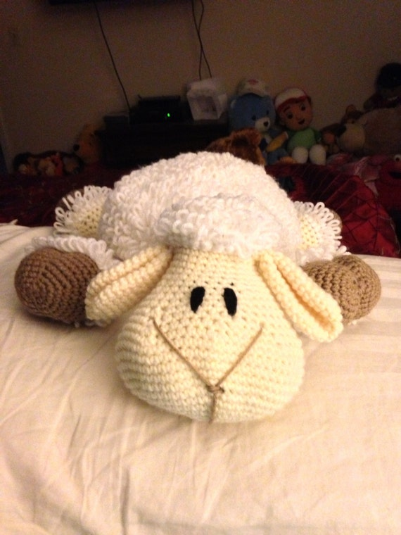 Lamb Pillow Stuffie