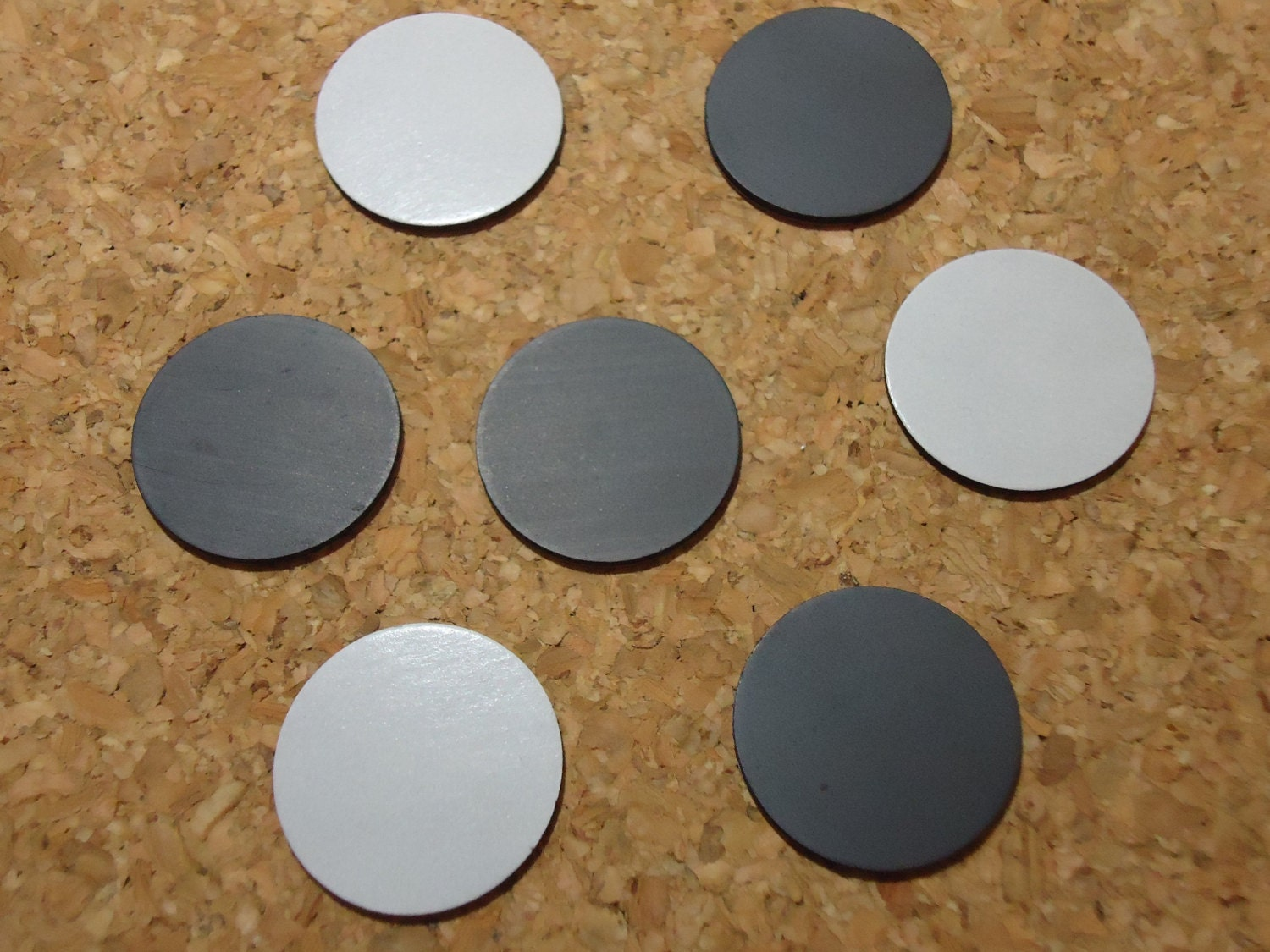 50 1 adhesive round magnets diy great for crafts