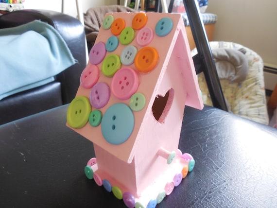 Pink Decor Birdhouse