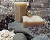 3oz. Bar of Lavender & Oatmeal All Natural Soap (unboxed) - MaineMountain