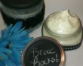 Natural Hair Butter, PH Balanced, Moisturizer, Broccoli seed butter, 8oz