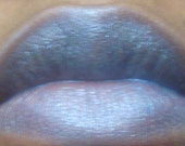LIP Gloss LIP CREME Icy Blue:  Natural Creamy Mineral Pigment With  Shea Butter Mega Size Brush Includ