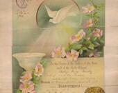 Baptism Certificate circa1908