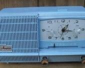 Blue GE Musaphonic AM Tube Radio
