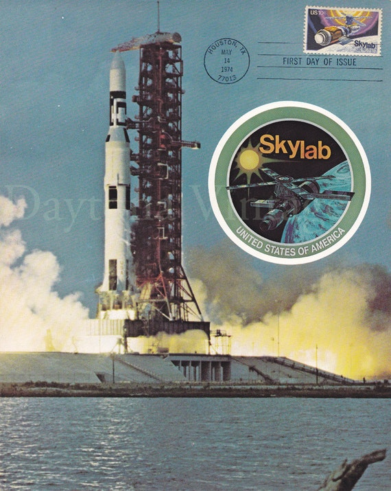 First Day Issue Skylab Stamp 1974